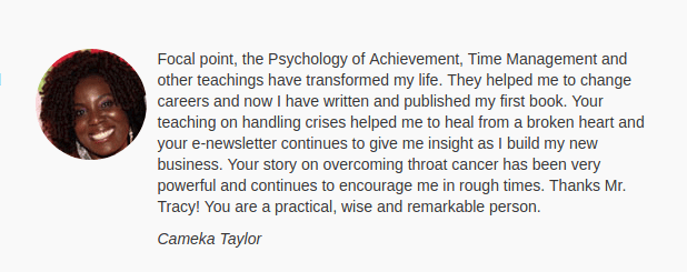 The Psychology of Achievement Testimonial