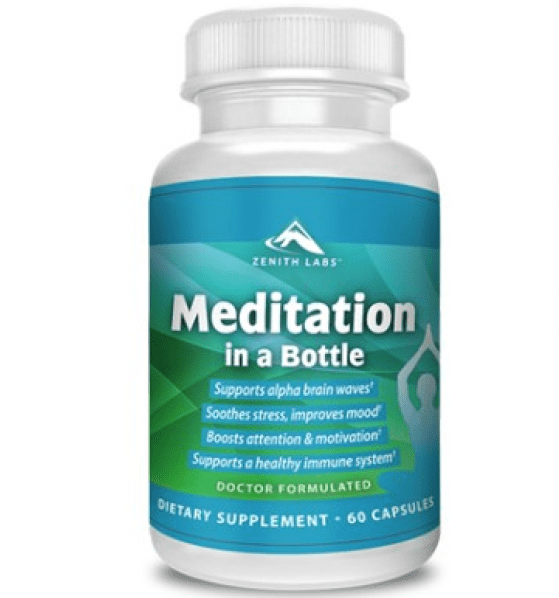 Meditation In A Bottle Anxiety Supplement